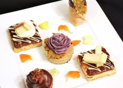bites sized desserts by Flavors Catering