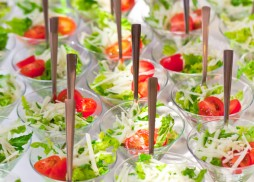 martini salad by Flavors Catering